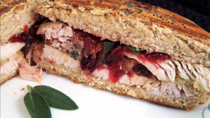 Turkey/ Cranberry/ Dressing Panini   Sandwich Savvy   Pinterest