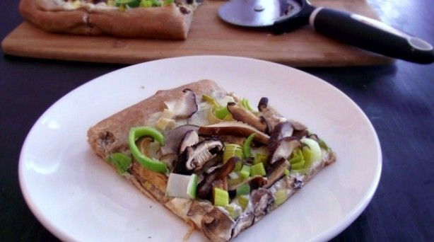 Mushroom and Leek Pizza | Recipes | Pinterest