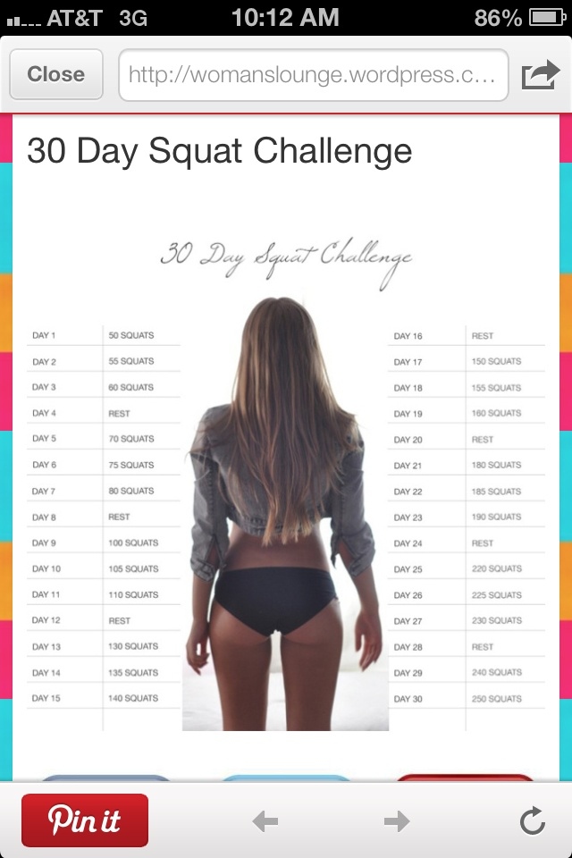 Butt and thighs workout | Gettin in Shape! | Pinterest
