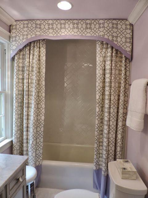 Shower Valance For The Home Pinterest