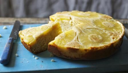 Rum-flavoured pineapple upside-down cake | Cakes, cupcakes, and sweet ...