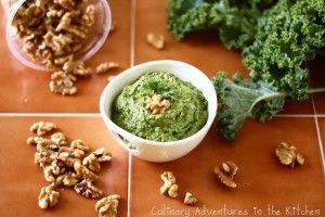 Kale - Walnut Pesto Recipe