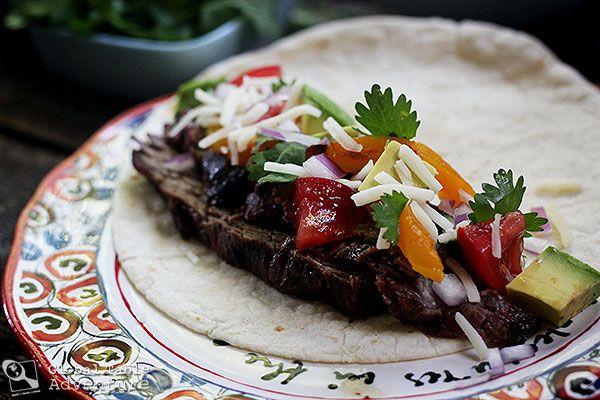Barbecued Meat | Carne Asada (w/ poll) | Recipe
