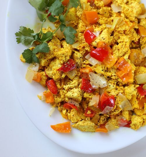 Tofu Scramble. Can tofu be successfully substituted for eggs in a ...