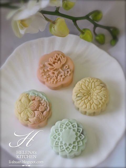 Snow skin mooncake | Recipes To Try | Pinterest