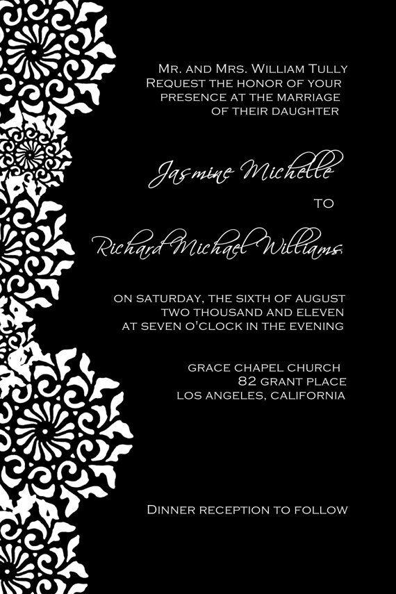Engagement Invites Templates for luxury invitation example