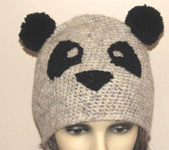 Crochet pattern for Panda hat (pdf) Knitting & Crochet Ideas Pint?