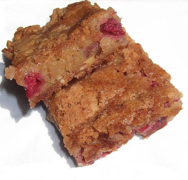 Raspberry Blondies from all*you Magazine, August 2011