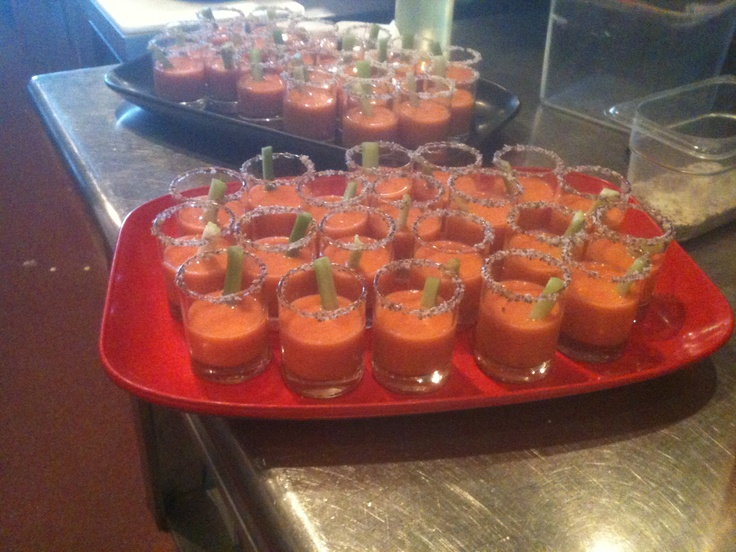 Bloody Mary-Flavored Gazpacho Recipes — Dishmaps