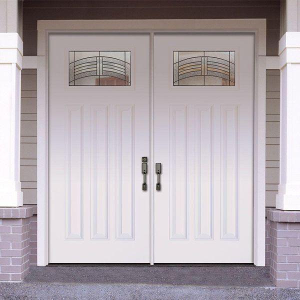 Feather river doors door rochester patina craftsman primed smooth fi - Home depot feather river door ...