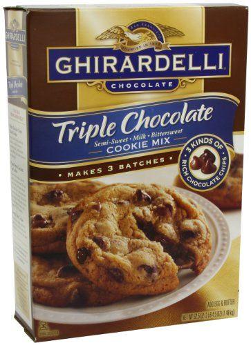 Ghirardelli Tripple Chocolate Semi Sweet Milk Blast Grocery