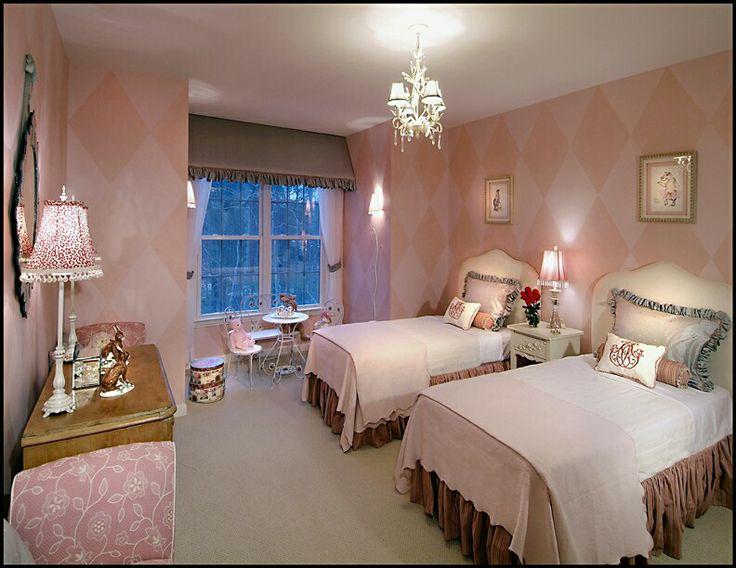 Girl sharing bedroom girls 39 room ideas pinterest for Bedroom ideas for girls sharing a room