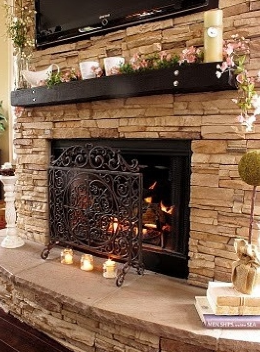 tv fireplace mantel our home in my dreams pinterest. Black Bedroom Furniture Sets. Home Design Ideas