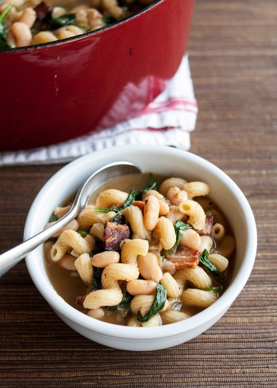Italian Bean And Grains Stew Recipe — Dishmaps