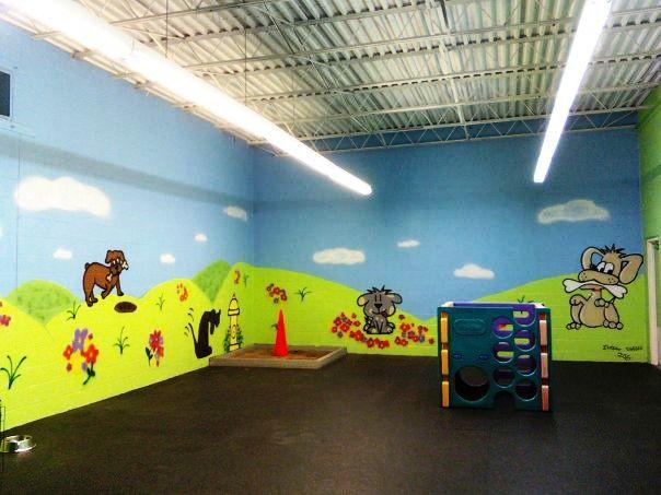 Sobo Dog Daycare Huge Indoor Playroom Dog Park Pinterest