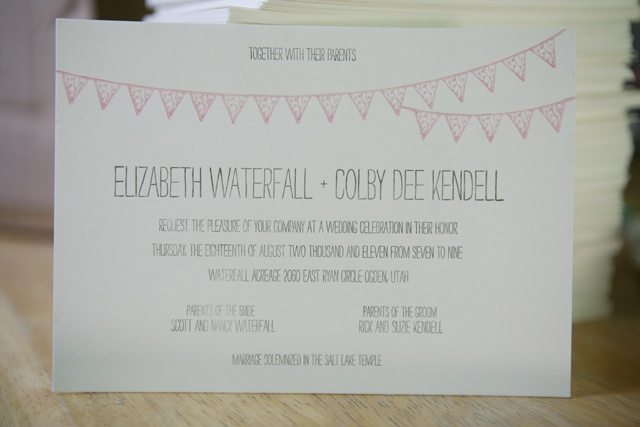 Diy letterpress wedding invitations vow renewal 4 25 2015 4 20 01