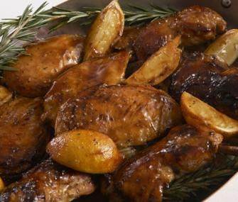 Lemon Chicken with rosemary & honey | All About Lemons! | Pinterest