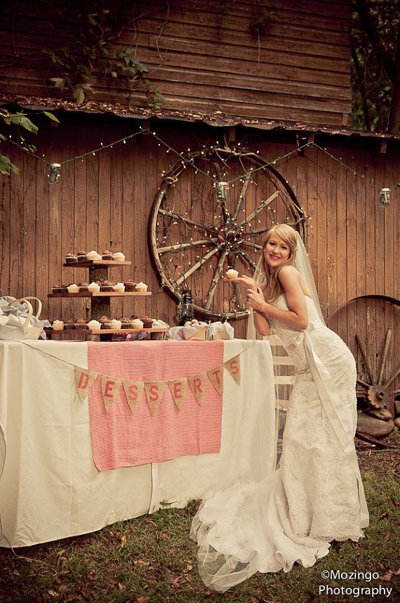 Cupcake Stand Rustic Wedding