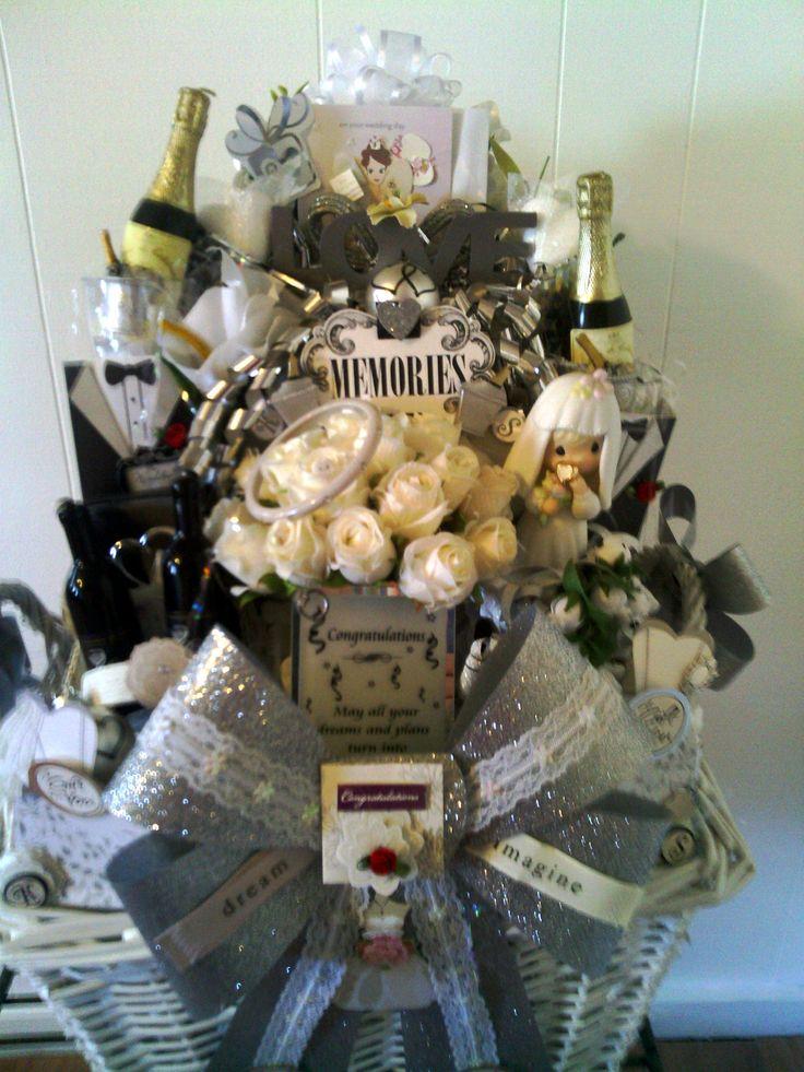 Wedding Gift Basket Etsy : SOLD ETSY Wedding Gift Basket Decorations Pinterest