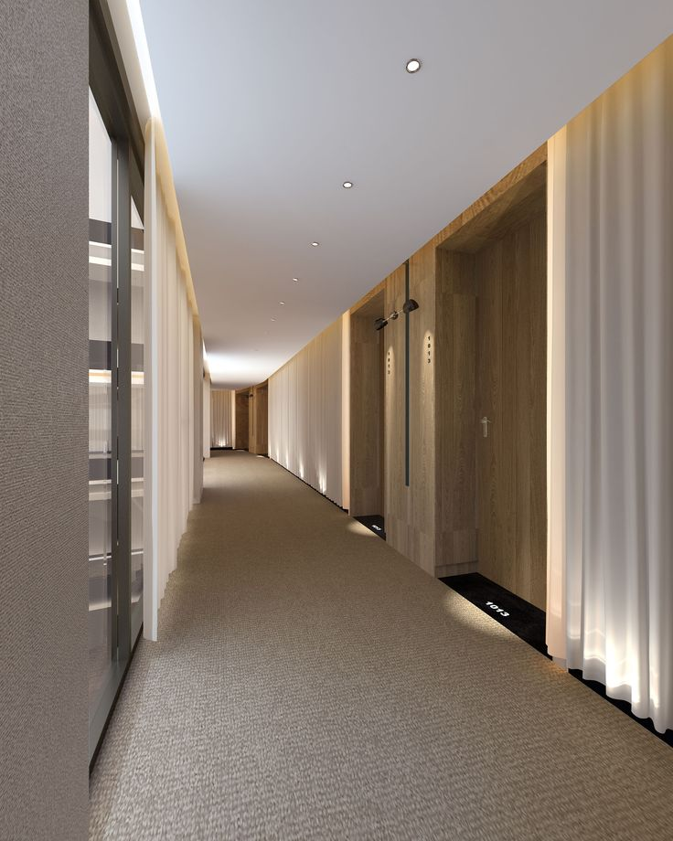 Corridor hotel spa pinterest for Design hotel 6f