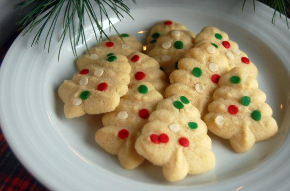 Vanilla Bean Spritz via Haute Apple Pie | Cookies | Pinterest