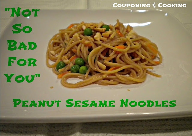 Not So Bad For You Peanut Sesame Noodles (6 Weight Watchers Points+ ...