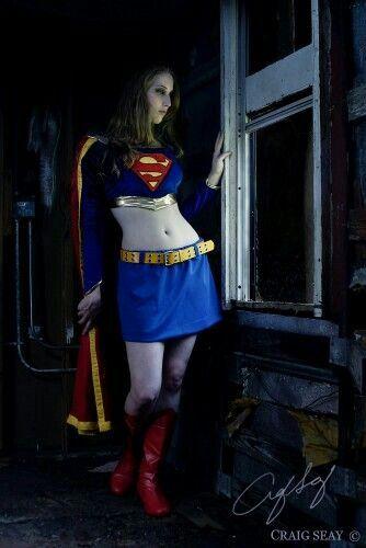 super girl sexy cosplay girls pinterest
