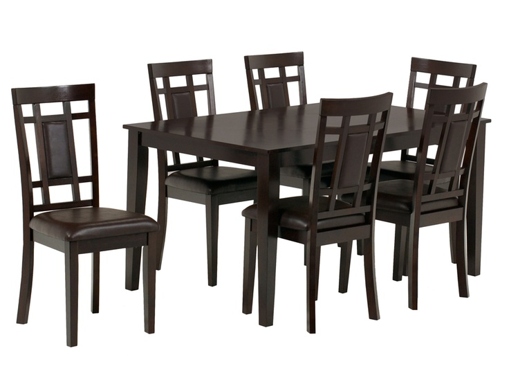 Westlake Dinette W 6 Chairs Rothman Furniture