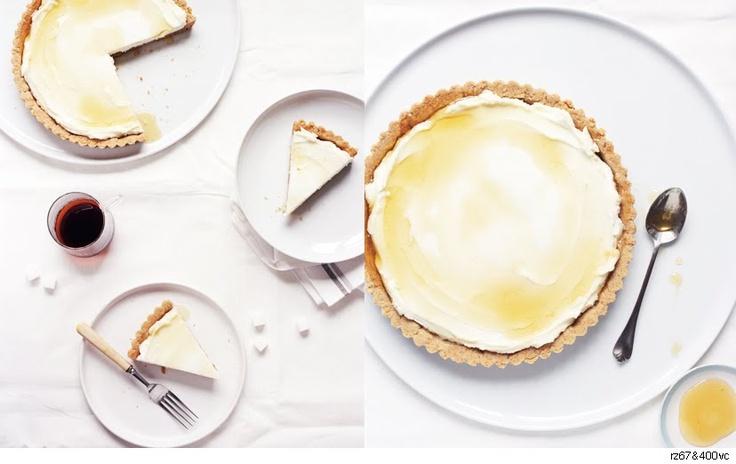 Honeyed Fig And Goat Cheese Tart Recipe — Dishmaps