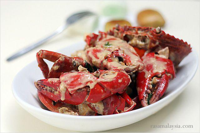 Creamy Butter Crab Recipe | Easy Asian Recipes at RasaMalaysia.com ...