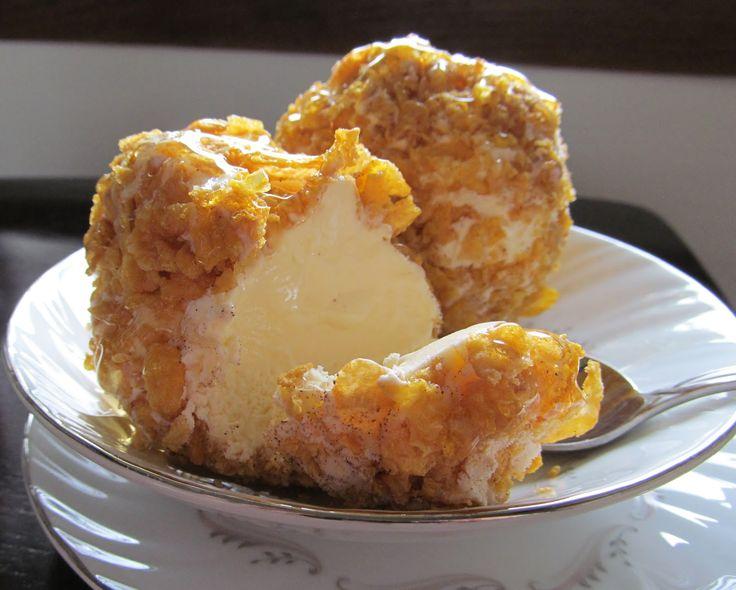 "Fried"" Ice Cream | Food | Pinterest"