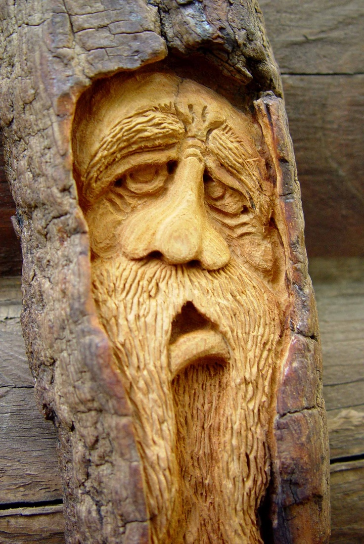 Cranky faces carved in wood pinterest