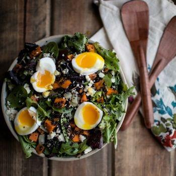 Sweet Potato Salad Naturally Ella | bon appetit | Pinterest