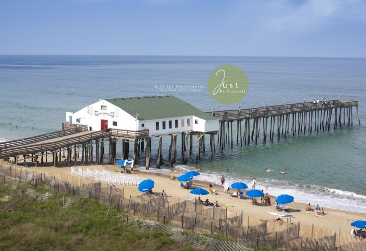 View Of The Kitty Hawk Pier House From The 5th Floor Of The Hilton Garden Inn In The Outer Banks