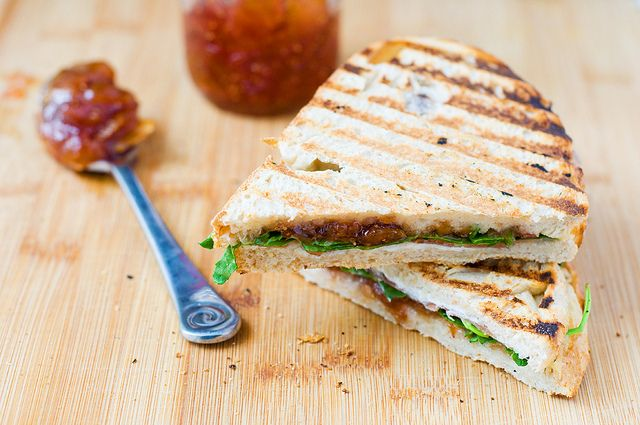 Fig Jam And Speck Panini