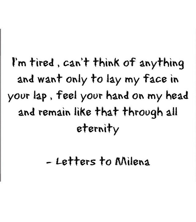 BEAUTIFUL, SIMPLE WORDS. Letters to Milena (Franz Kafka)