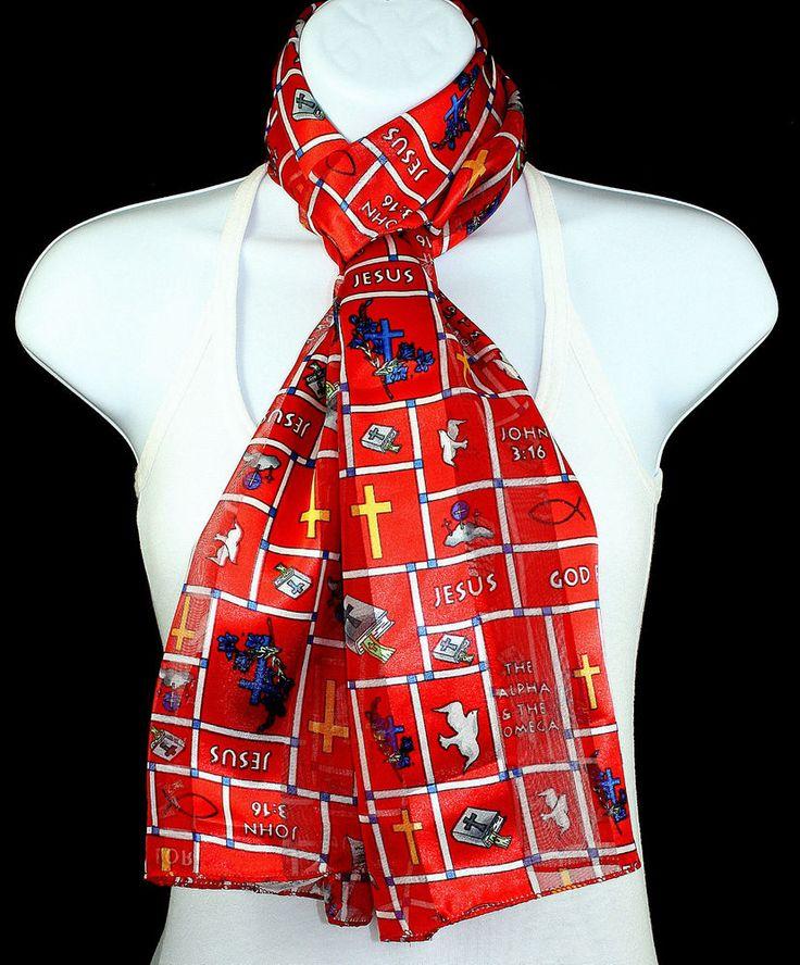 new 3 16 womens scarf jesus bible christian religious