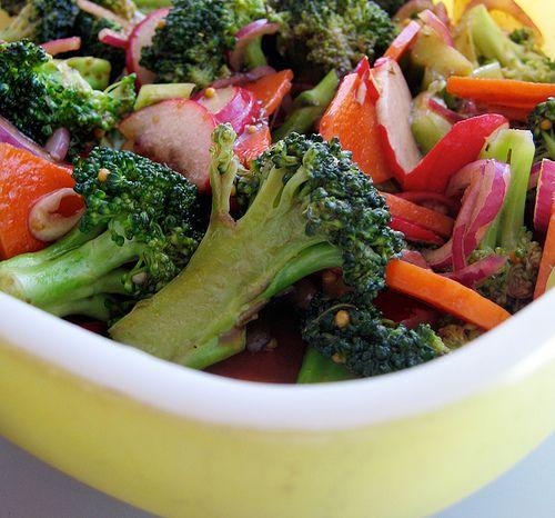 Marinated Vegetable Salad | Yum | Pinterest