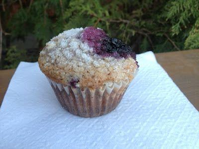 Lemon Sugar Crusted Blueberry Muffins   Muffins   Pinterest