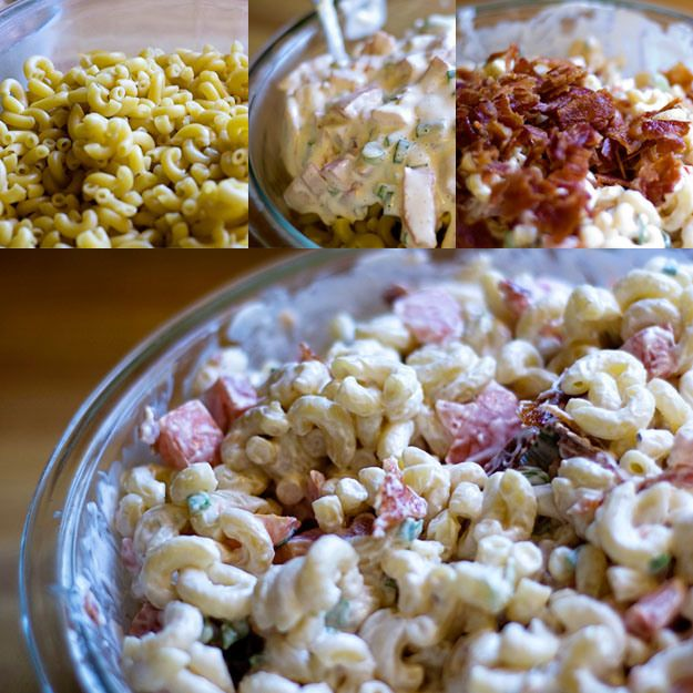 BLT Macaroni Salad. Again With The Bacon