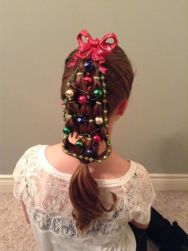 Hairstyles Holiday : Holiday Hairstyle--Christmas Tree My Style Pinterest