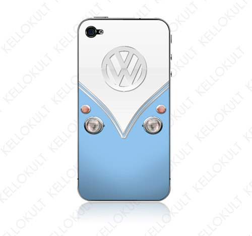 Blue VW iPhone cover - Cute