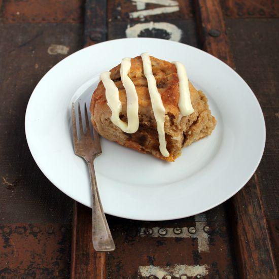 Quick Pumpkin Cinnamon Rolls with Cream Cheese Frosting | Veggie ...