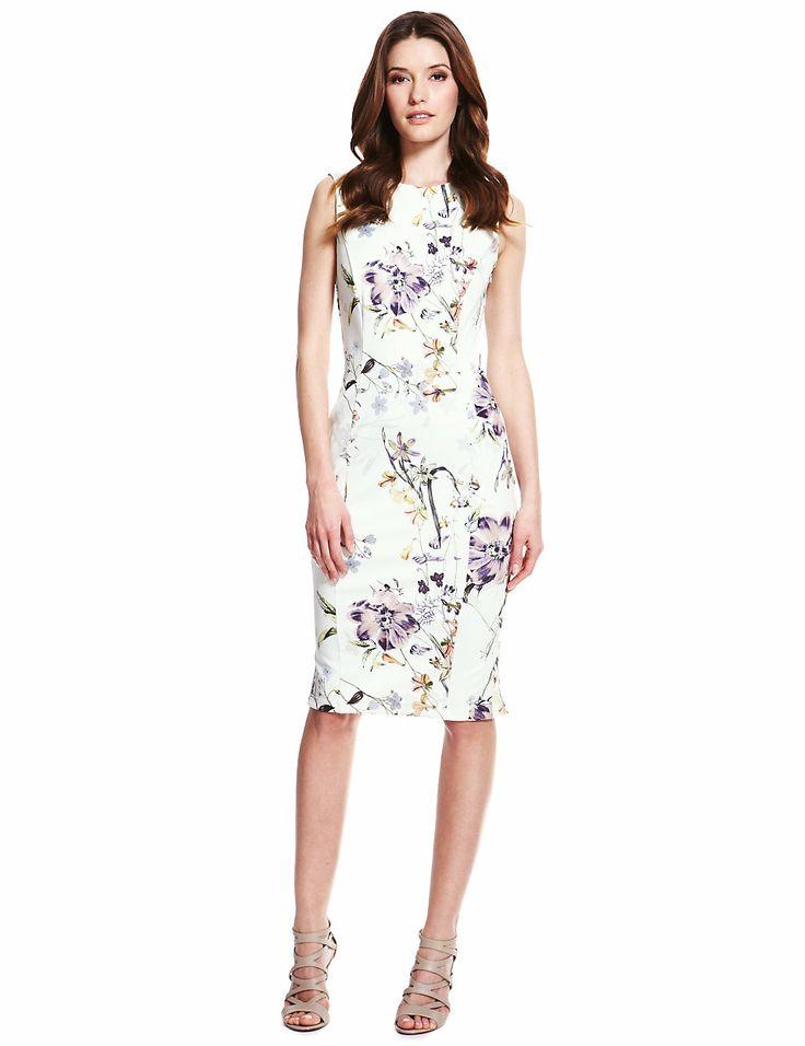 S Floral Dress Fashion
