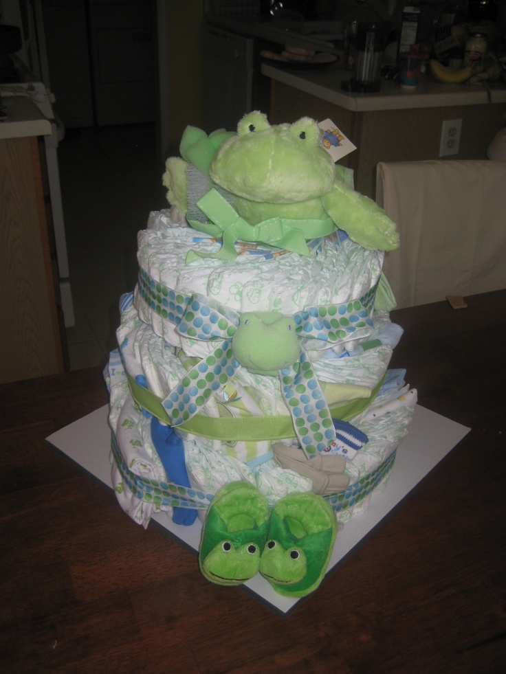 Instructions For Diaper Cakes Without Rolling Diapers
