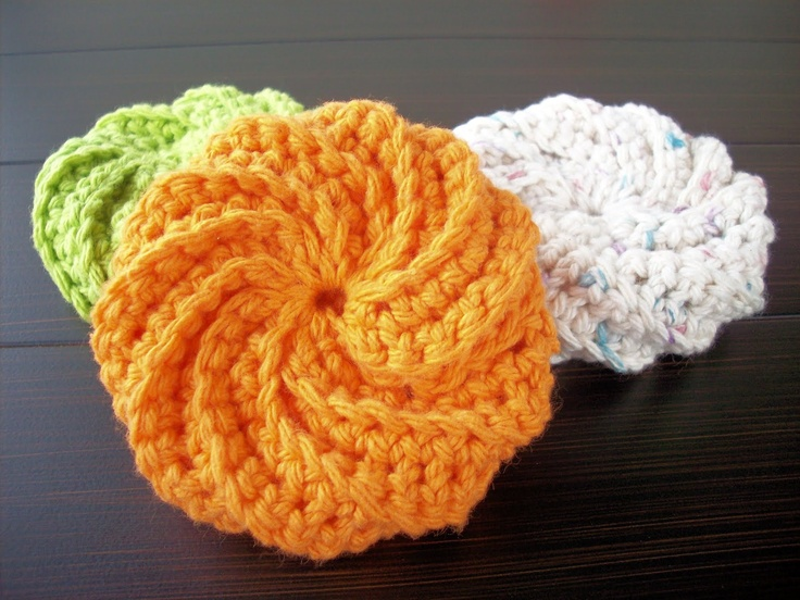 artful explorations: Crochet Scrubbies hooked on crochet /stitches ...