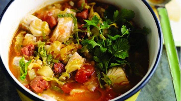 Portuguese Seafood Stew Recipe — Dishmaps
