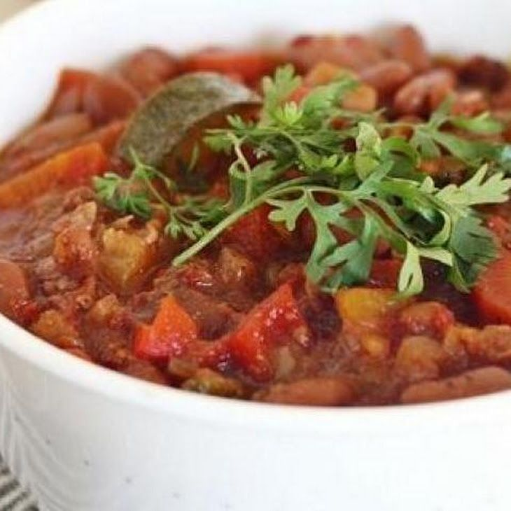 Summer Vegetarian Chili II Recipe | Yummy | Pinterest