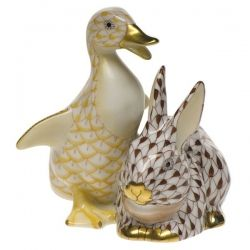 Herend Butterscotch Duck and Chocolate Bunny @lvharkness