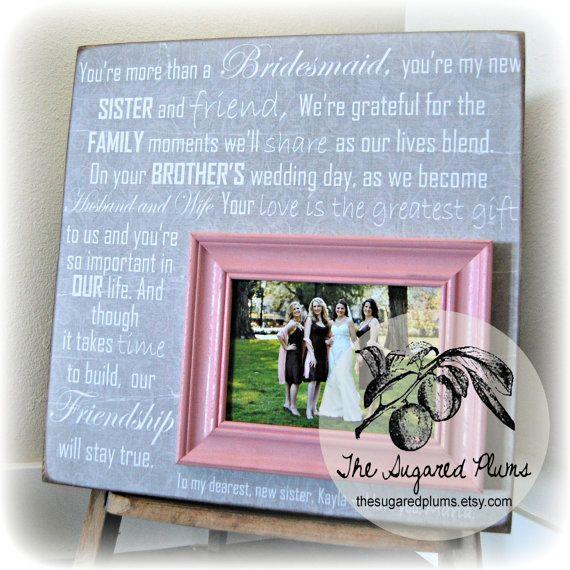 ... friend Bridesmaid Gift, Best Friend, Sister, Maid of Honor, Wedding